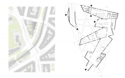 Lageplan/ Grundriss