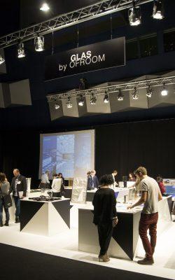 """GLAS by OFROOM Stand auf """"ARCHITECT@WORK"""" Messe Wien"""
